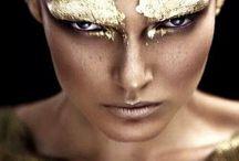 Fierce Makeup! / Wild and intense makeup found on Pinterest!