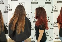 NYLA:  Color before & after
