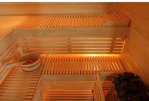 Sauna / Her finder du skønne saunaer, både infrarøde saunaer og traditionelle saunaer. Du kan se hele vores sauna udvalg her http://www.saunaovn.dk/group.asp?group=83