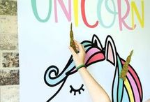 Idei de decoratiuni cu unicorni