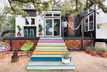 Small home design / Small spaces, tiny homes, small footprint, compact homes, modular living, design and Devore for small homes