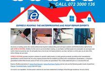 EXPRESS ROOFING Website Design