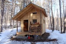Cabins, Canoes, Shelters, Axes, Beards and Flannel