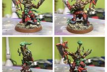 Miniatures painting and wargaming