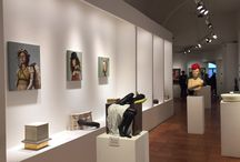 The Gallery  / This is the 400 square-meters space, where we expose the art works of about 50 artists, all italian!