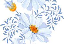 Kvety - kresby