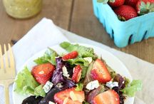 Summer time salads & vinagerettes