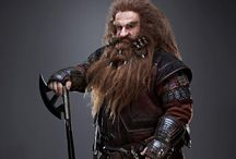 Research - Gloin the Dwarf / researching Gloin's hair and beard as inspiration for a project