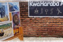 The Kwa Haraba Arts Cafe in Blantyre / Pictures taken at the Kwa Haraba Arts Cafe in Blantyre, They might enable you to decide whether you want to pop in.