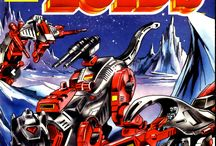 Zoids / I just discovered a bunch of Zoids covers I did way back when I was starting out