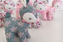 Stuffed fabric creations