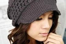 Slouchy crochet hats / All sorts of beanies