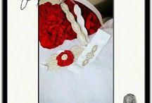 Wedding / Custom bridal pieces made for today fashion forward modern bride