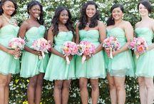 Bridesmaids / Beautiful Bridesmaids Dresses from various designers
