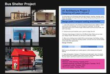 Bus shelter project