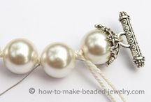 pearls knotting