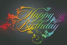 Birthdays / birthday wishes