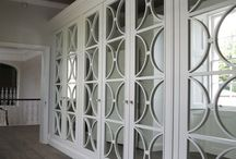 Wardrobes with fretwork