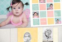 fotoboek idee baby's eerste jaar