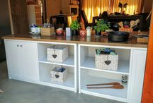 kitchen islands and cupboards