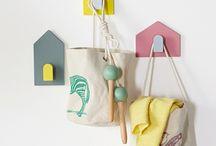Children's bedroom - tropical colours
