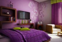 Wall Painting Ideas / Get creative wall painting ideas & designs for your living room and home