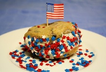 America Loves Cookies / In honor of Memorial Day we have found some delicious patriotic cookies we think you'll LOVE!