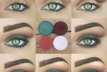 Olhos verdes make