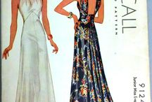 vintage sewing patterns / A collection of vintage patterns I love