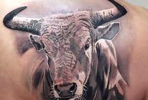 Bull tattos