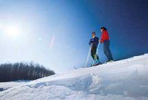 Skiing in Michigan