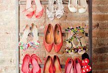 Хранение обуви / 10 гениальных идей