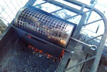 Cylinder Grill / Homemade cylinder grill barbecue grill bbq grill
