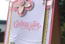 Handmade Cards- SU- Triple Treat Flower