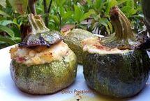 , zucchine tonde