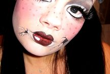 Halloween makeup / Here is great ideas for halloween makeup