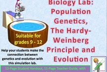 Evolution / Origin of Life / This board contains a variety of teaching materials for a high school biology class on evolution.  Many of these lessons are suitable for middle school grades as well. / by Science Stuff