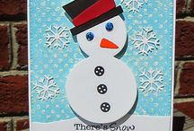 Sam E. Snowman {Die Set} / Sam E Snowmand Shaker Die Set is perfect for those winter cards. Fill his belly wiht sequins, beads or confetti #shakercard #snowmansharkerdie #cardmaking