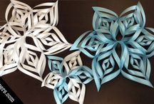 Embracing the Chill with Shimmer Snowflakes / by Paper-Papers