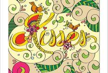 Antistess coloring