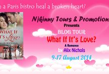 Blog Tour: What If It's Love? by Alix Nichols Organized by Njkinny Tours & Promotions! / Here you will find all posts related to this tour which took place from August 9-17, 2014!  Organized by Njkinny Tours & Promotions (http://njkinnytoursandpromotions.blogspot.in)