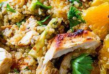 Salat  - Kylling