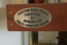 Custom hand made furniture-Recycled pallets / Show case of my hand made furniture from reclaimed timber.