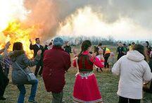 Képgaléria - Télbúcsúztató Celldömölk 2015 / Az első celldömölki télbúcsúztató rendezvény képgalériája. A gazdag programban többek között volt néptáncműsor, kisze báb égetés, tűzgyújtás.