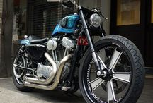 Cars, motorcycles