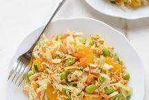 Salads (of all kinds!)