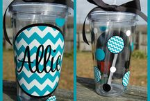 Vinyl crafts / by Brittany Kelly/Cherri Designs