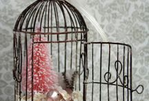 bird cages diy / by Patty Gravel