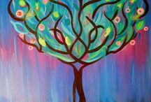 Árboles / Pintura