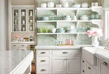 Cottage Kitchens / Beautiful cottage kitchens.